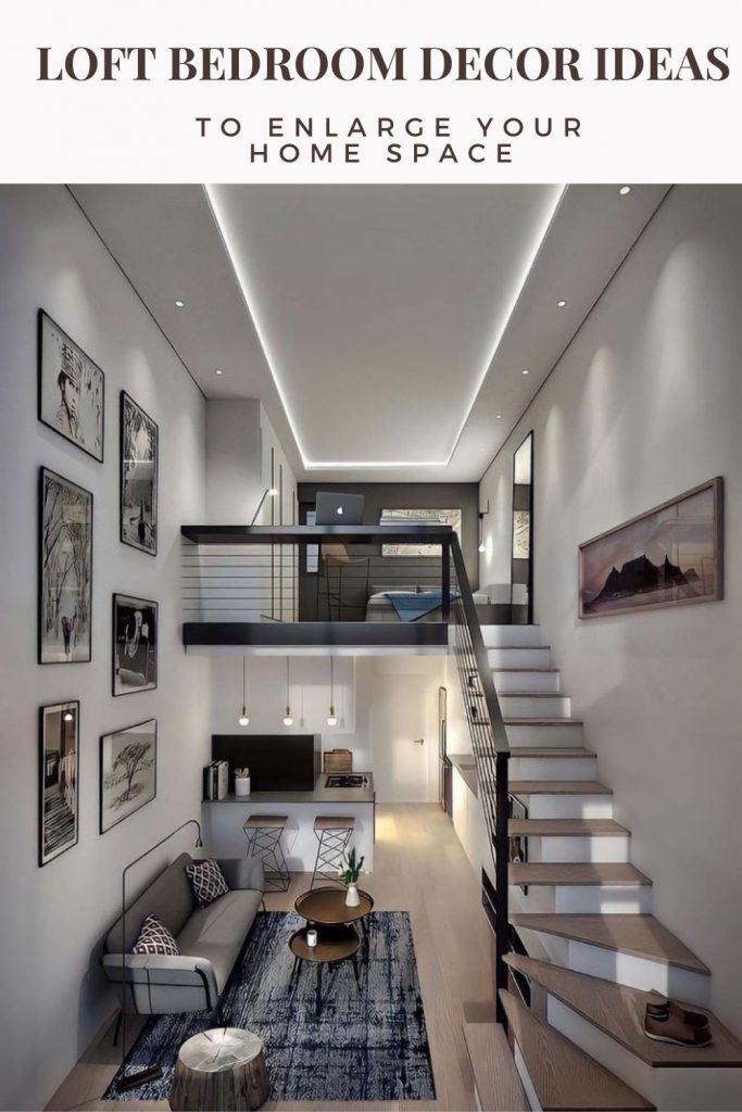 Brilliant Loft Bedroom Ideas To Enlarge Your House Space