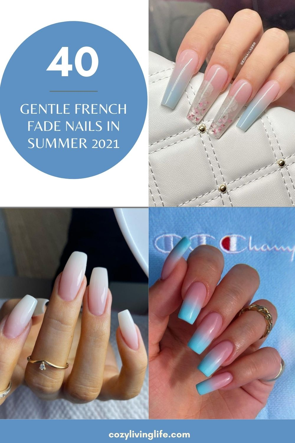 Elegant French Fade Nails To Copy For Occasion!