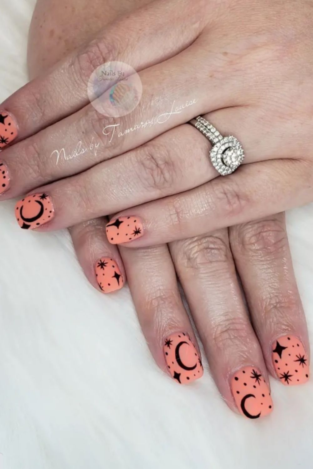 35 Fantastic moon nails and star nails designs that are so cute