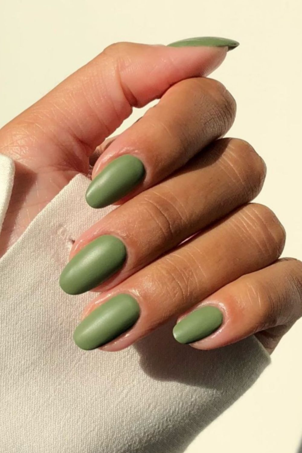 40 Best Green nails design for Autumn nails 2021