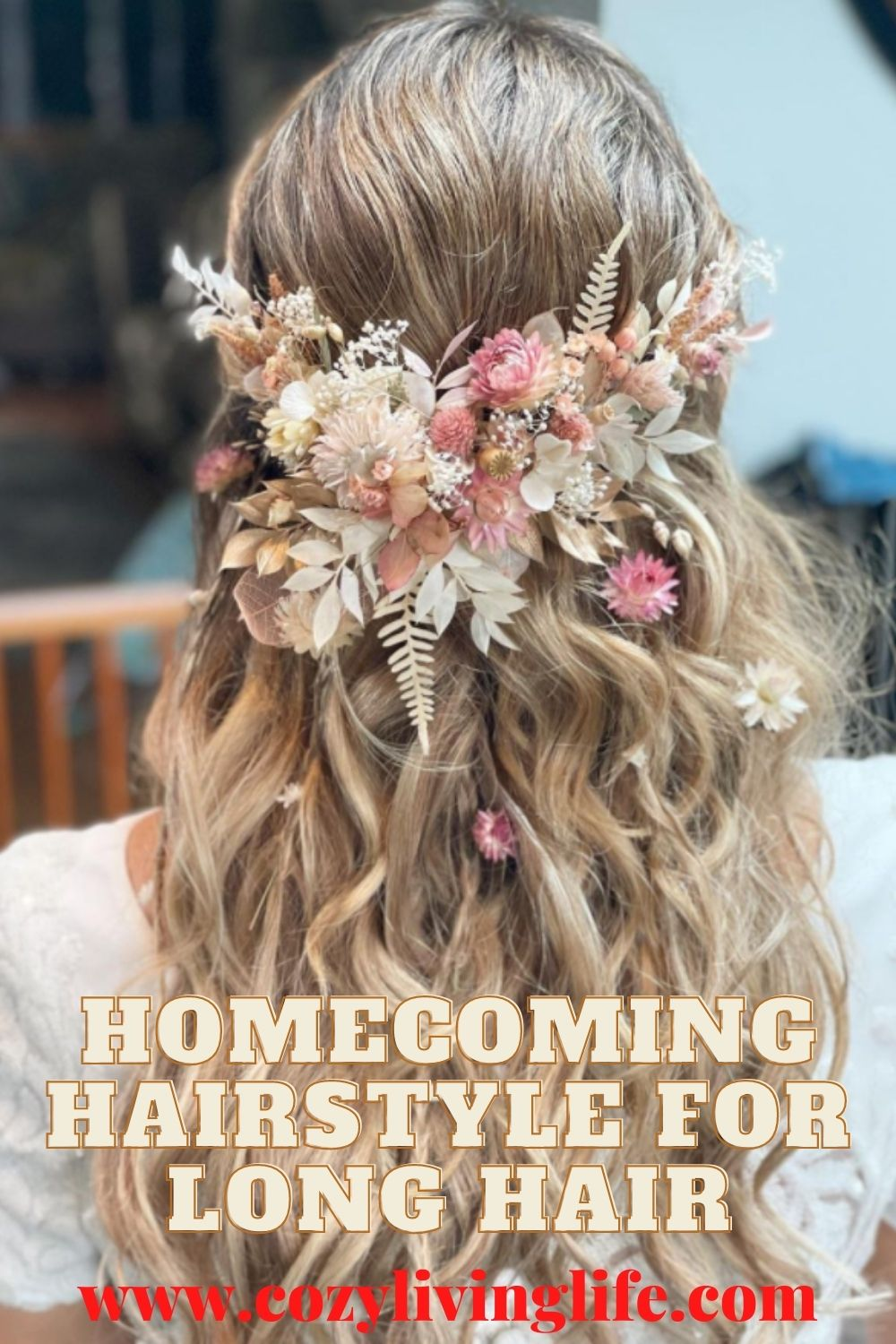 40 Gorgeous Homecoming hairstyle for long hair 2021